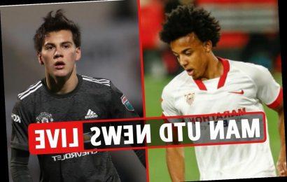 12.45pm Man Utd transfer news LIVE: Sergio Ramos 'wants United move', Kounde top target, Sancho LATEST – Deadline Day