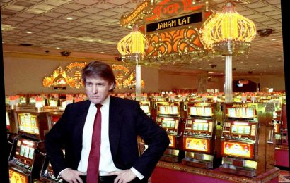 What is the Trump Plaza implosion in Atlantic City?