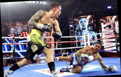 Oscar Valdez defeats Miguel Berchelt with devastating knockout blow