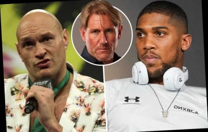 Anthony Joshua vs Tyson Fury's proposed PPV price blasted by Simon Jordan as he hits out at their £100m pay days
