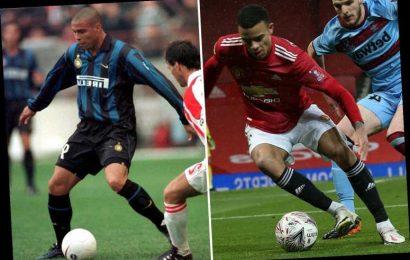 Man Utd star Greenwood on idolising Brazilian Ronaldo and how Edinson Cavani is teaching him.. without speaking English