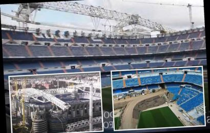 Inside Real Madrid's stunning new Bernabeu during £500m revamp… which will actually REDUCE capacity by one