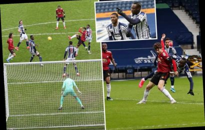 West Brom 1 Man Utd 1: Solskjaer's men lose MORE ground on City in title race with sloppy draw at battling Baggies