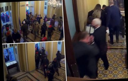 Trump impeachment trial – Scary new Capitol riot vid shows how close senators came to mob who 'wanted to KILL Pence'