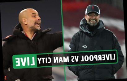 Liverpool vs Man City LIVE: Stream, TV channel, team news as Mane STARTS, Jesus on bench – Premier League latest updates