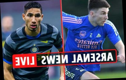 9.15pm Arsenal transfer news LIVE: Tierney RETURN, Achraf Hakimi BOOST, N'Dicka and Firpo links, Luiz red card DECISION