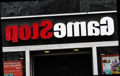 Is GameStop up or down today?