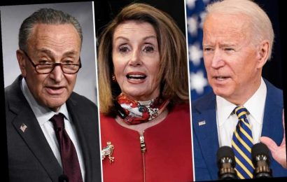 Biden slammed as a 'puppet of Nancy Pelosi and 'far-left Democrats' who is 'suffering from cognitive decline' by GOP
