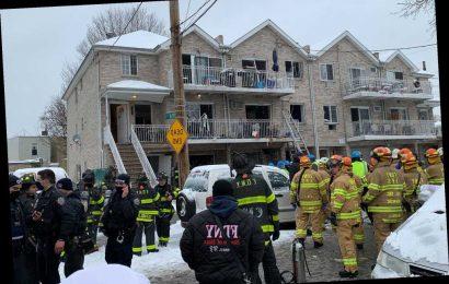 Gas explosion rocks NYC building