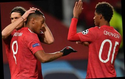 Solskjaer demands Man Utd strikers up their game with misfiring front four scoring just 17 goals combined this season