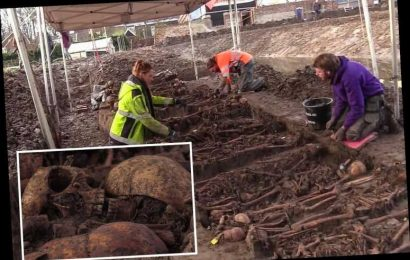 Mass grave of 80 British soldiers found in a Dutch castle used as hospital during war against French revolutionaries