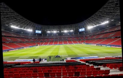 Why is RB Leipzig vs Liverpool being played in Budapest & where will the Champions League last-16 second leg take place?
