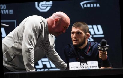 Khabib set for new showdown talks with UFC chief Dana White and says Poirier deserves title after beating Conor McGregor
