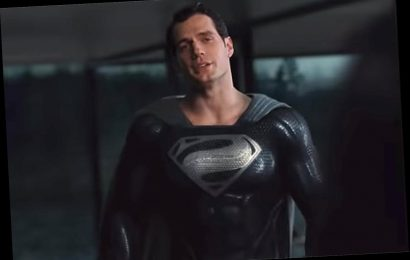 Watch Henry Cavill's Superman Fly in an All-Black Suit in First Look at Zack Snyder's Justice League