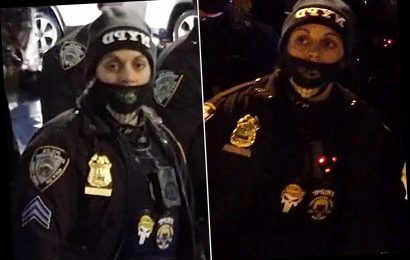 NYPD punishes cop for wearing 'politically-oriented patch' on duty