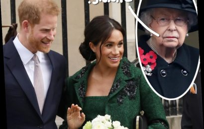 Meghan Markle & Prince Harry's Statement Showed They Were 'Angry' With The Queen, Says Royal Expert