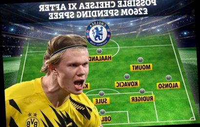 How Chelsea could line-up with £260m transfer warchest handed to Thomas Tuchel starting with Dortmund hot shot Haaland