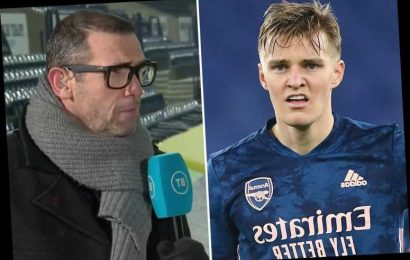 Arsenal legend Martin Keown admits he has 'reservations' over Martin Odegaard taking No10 role from Emile Smith Rowe