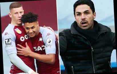 Aston Villa 1 Arsenal 0: Watkins' early strike stuns Gunners to keep high-flying Villa's Euro dreams alive