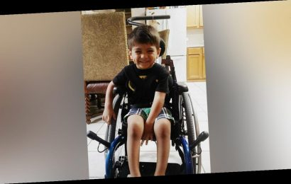 7-year-old with cerebral palsy crawls to his family's rescue: 'He is our hero'