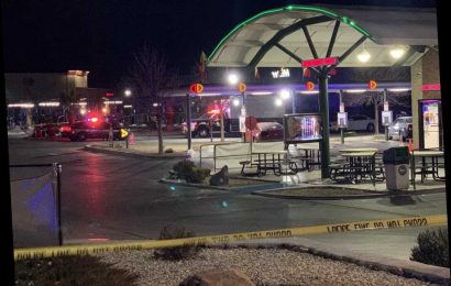 New Mexico police officer run over outside of a Sonic Drive-In
