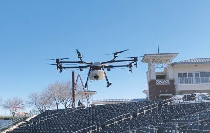 A Baseball Coach Sends a Drone to Help Ease Fans' Fear