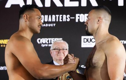 Joseph Parker v Junior Fa: Expert picks