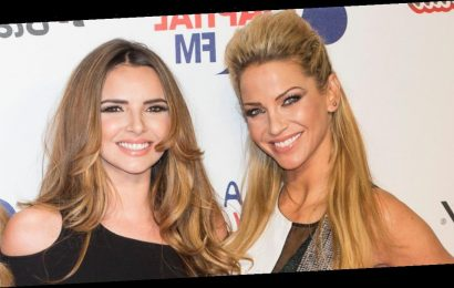 Sarah Harding spent night crying and drinking with Nadine Coyle after finding out cancer diagnosis