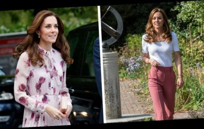 All the times Kate Middleton has blossomed in pink as she sets trend of the biggest colour for spring