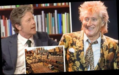 Rod Stewart 'instantly transformed' in interview after Charlie Stayt's train surprise