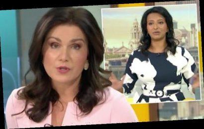 Ranvir Singh expresses concern for Susanna Reid after Piers Morgan exit 'Are you alright?