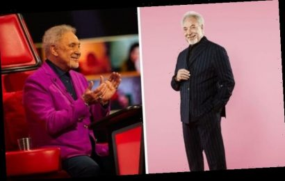 The Voice UK: Sir Tom Jones says having a son young put pressure on him to be successful