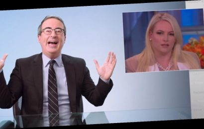 John Oliver Calls Out Meghan McCain for Defending Trump's 'China Virus' Statement
