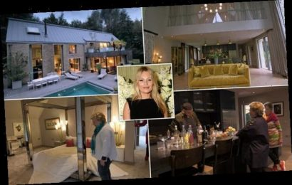 Extraordinary Escapes: Cotswolds party house designed by Kate Moss