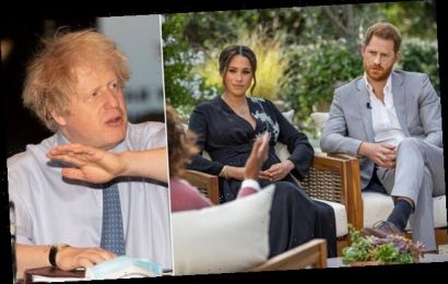 Boris Johnson says it's 'unlikely' he will record Meghan's interview
