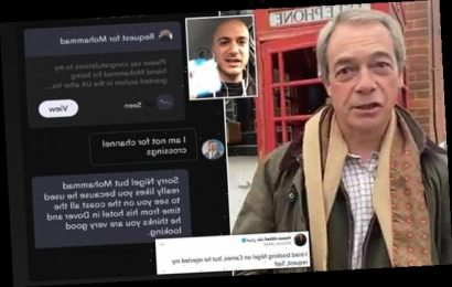 Farage trolled on Cameo as user asks him to congratulate migrant