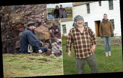 Dad who lives on one of the UK's most remote islands says he is lonely