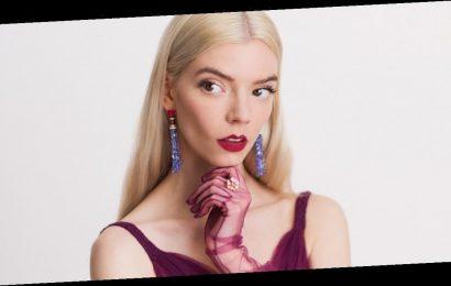Anya Taylor-Joy's Critics' Choice Dress Came With Sheer Gloves and a Braided Waistline