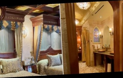Disney Shared a Rare Look Inside Cinderella's Castle Suite, and It Really Is What Dreams Are Made Of