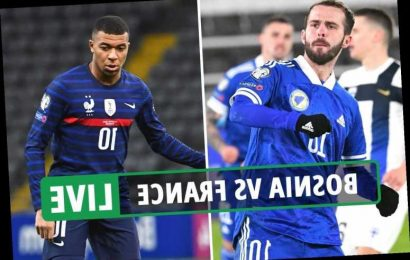 Bosnia vs France: Live stream, TV channel, teams and kick-off time for TONIGHT'S World Cup 2022 qualifying