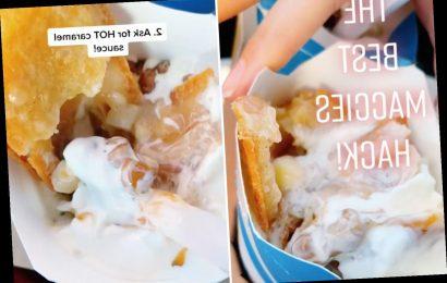 McDonald's fan reveals how to get 'secret menu' apple pie McFlurry & it looks incredible