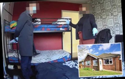 Two estate agents caught on secret camera slagging off 'disgusting' £300k bungalow they were trying to sell