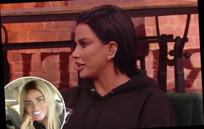 Katie Price stuns viewers as she ditches wig and shows off real hair with ear studs on Steph's Packed Lunch