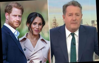 Piers Morgan blasts Meghan Markle's 'disgraceful race slur' and says she's 'effectively branded the Queen a racist'