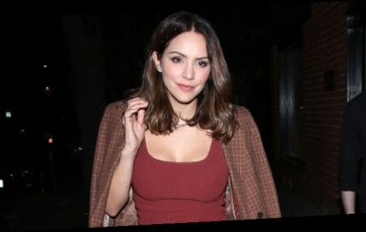 Katharine McPhee Shares 1st Adorable Photo Holding Her & David Foster's Son Saying 'I Love Being A Mommy'