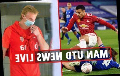 5pm Erling Haaland and Donny van de Beek swap interest, Mason Greenwood injured, Neto £50m EXCLUSIVE
