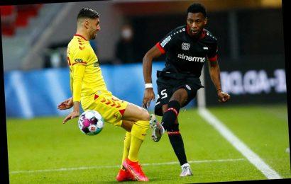 Marcus Rashford shows support to ex-Man Utd team-mate Timothy Fosu-Mensah as Bayer Leverkusen star ruptures ACL