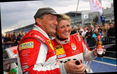 Who is Sabine Schmitz's husband Klaus Abbelen?