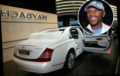 Floyd Mayweather in bidding war with 'high-profile rapper' to buy £1.9m Maybach also owned by Drake and DJ Khaled