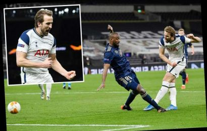 Tottenham 2 Dinamo Zagreb 0: Harry Kane takes goal tally to 26 as Spurs take control of Europa League tie